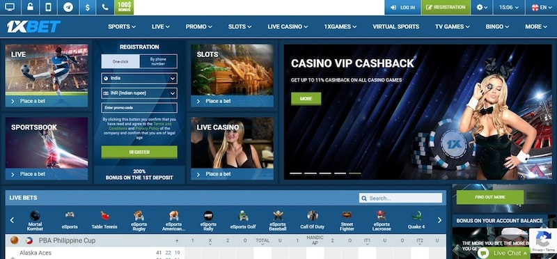 1xBet Review the US
