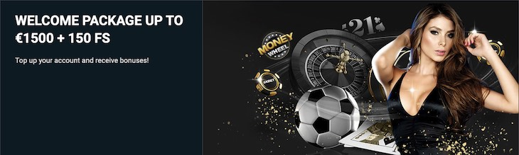 1xBet Welcome Package: Up To €150 + 150 FS