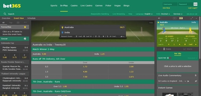APL Live Betting