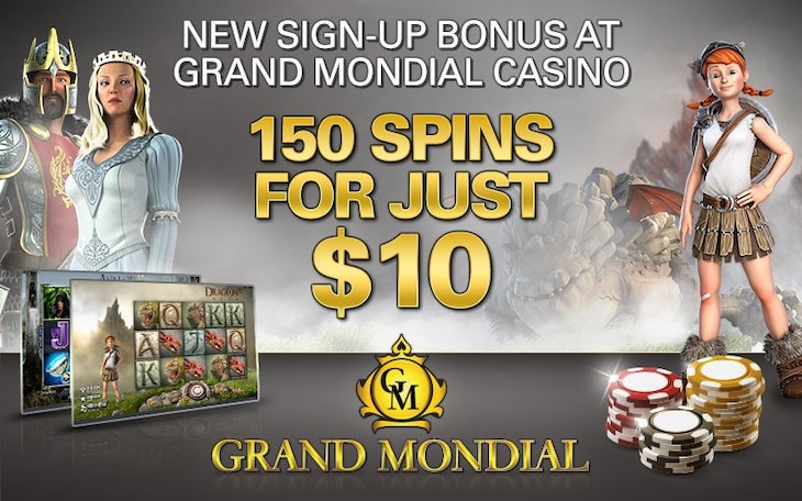 150 Free Spins for only $10