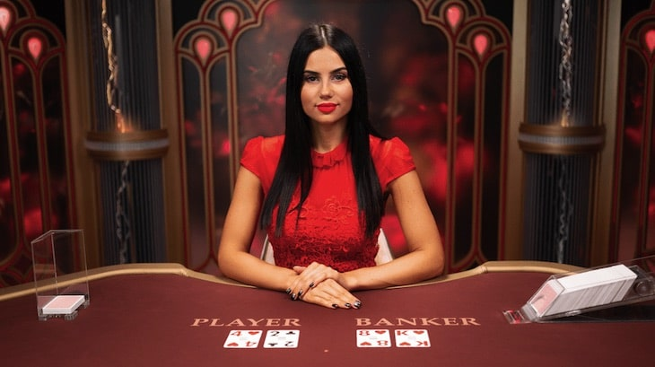 Live Baccarat Games From Evolution Gaming