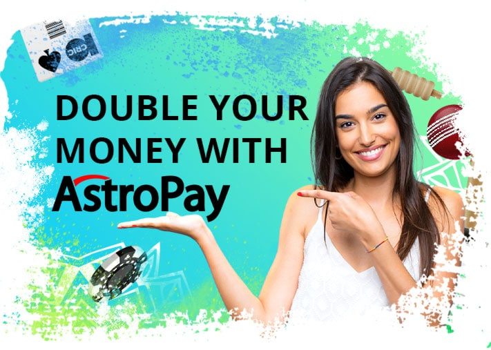 double money with Astropay on 10CRIC