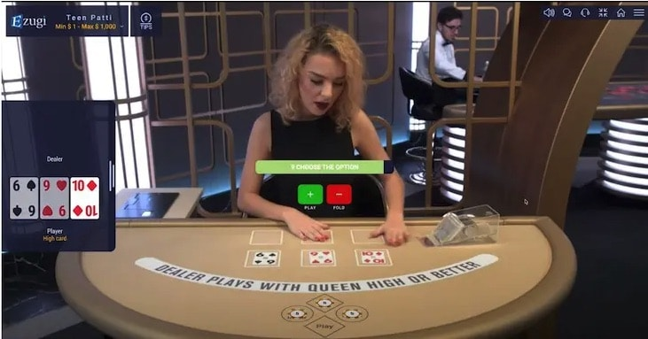 How to Play Teen Patti step 3